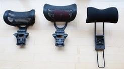 Aeron Headrest Comparison: Engineered Now H3 + H4 vs. Atlas