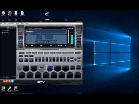 how to get btv drum machine software free music maker software youtube