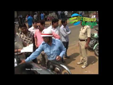 Bishnupur MP Without Helmets at Bankura