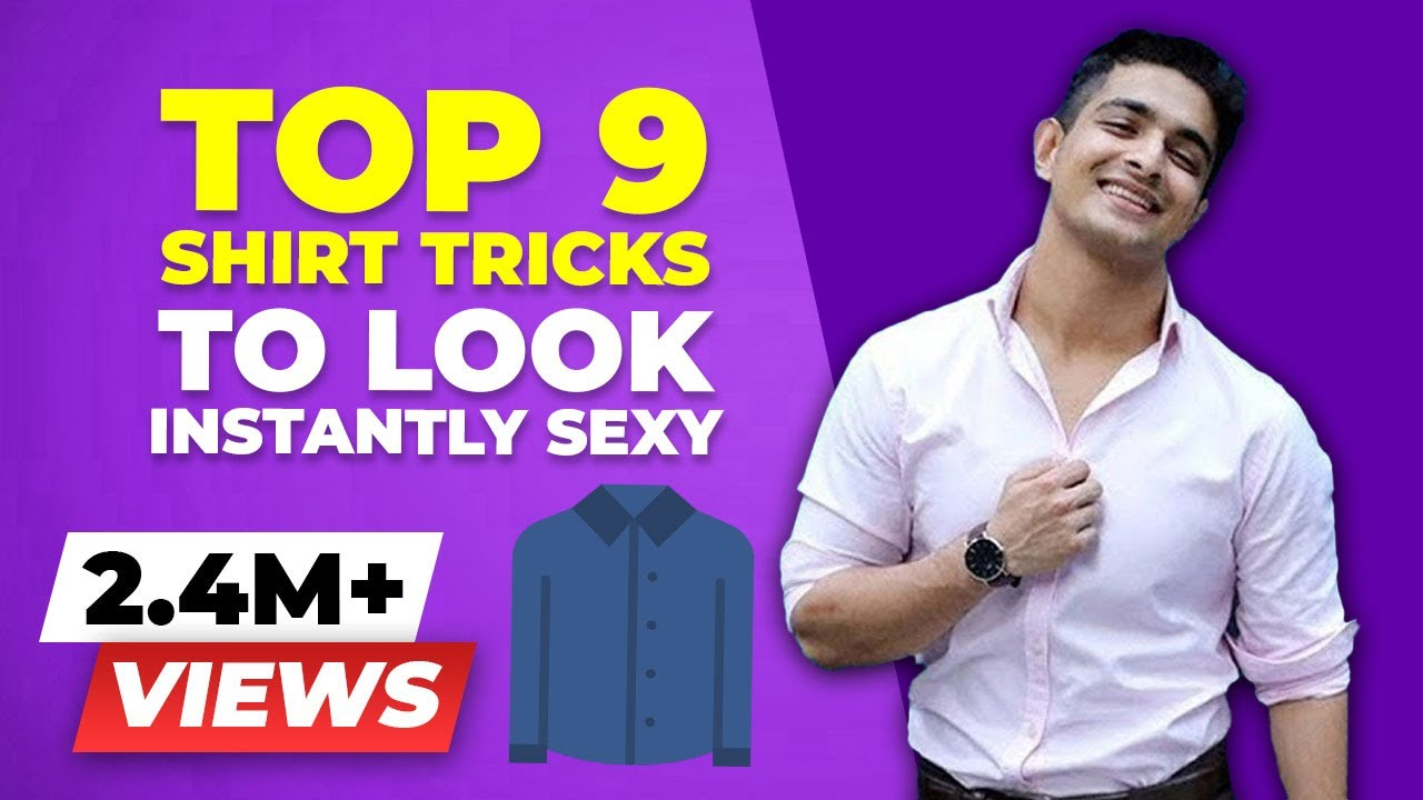 timeless design 10e84 2d5e0 Instantly Look Sexier in a T-shirt - 9 INSANE TShirt Hacks | BeerBiceps  Men's Fashion