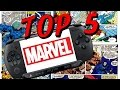 TOP 5 - PSP Marvel Games (Jogos da Marvel)