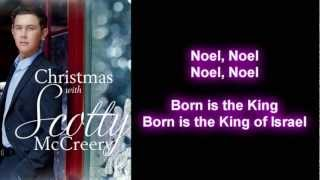 Scotty McCreery - First Noel (Lyrics)