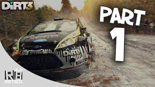 Dirt 3 Gameplay Walkthrough Part 1 - Rally Finland! (PC Gameplay)