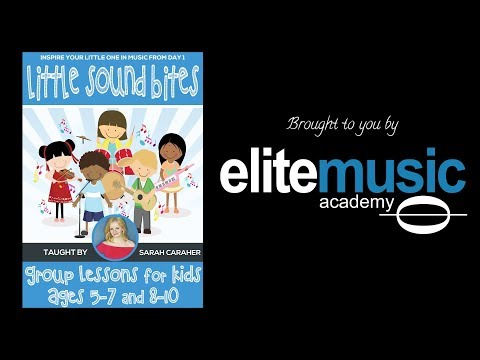 Little Sound Bites: Group Music Lessons for Kids Ages 5-7 in Toronto