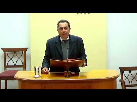 01.03.2020 - Ιεζεκιήλ Κεφ 37 & Κατα Λουκαν Κεφ 7 - Τάσος Ορφανουδάκης