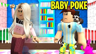 Baby Poke's Girlfriend Dumped Him.. (Roblox)
