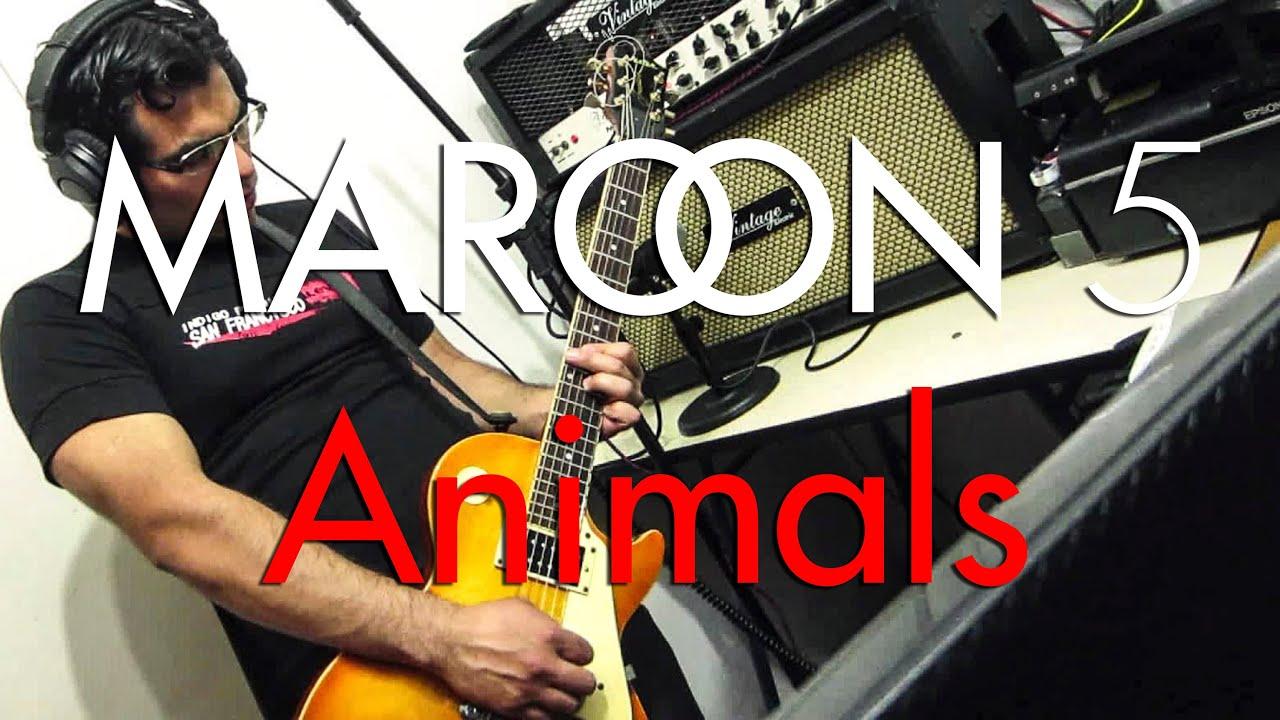 Animals maroon 5 guitar