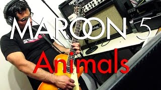 Maroon 5 - Animals | Electric guitar cover (instrumental)