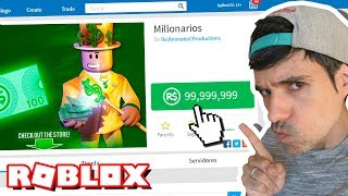 this game is only for MILLIONAIRES in ROBLOX!