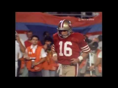 Joe Montana Engineered the Greatest Comback in Superbow XXIII