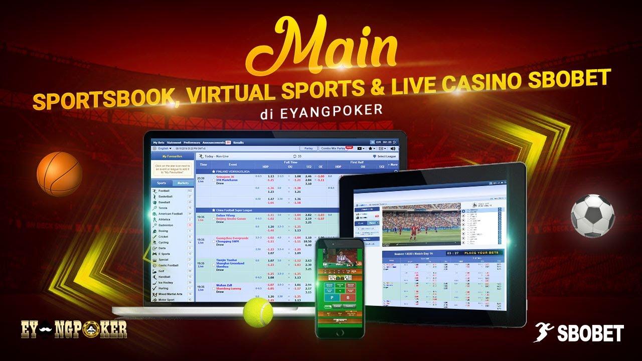 Permainan Sportsbook Dan Live Casino Di Eyangpoker Youtube