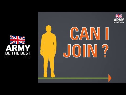 Can I Join The Army? - Army Jobs