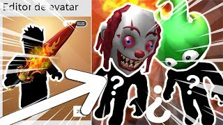 HOW TO MAKE TWO AVATAR WITH THE HALLOWEEN ITEM-ROBLOX AVATAR