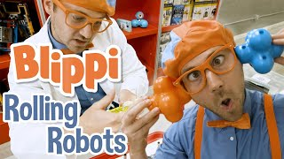 Blippi | Rolling Robots | Learning Science For Kids With Blippi | Educational Videos for Kids