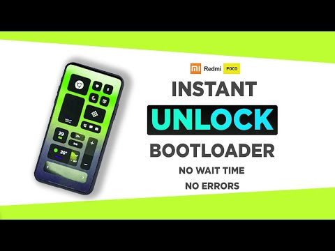 Unlock Bootloader in any Xiaomi, Redmi or Poco Phone | Instant, No Waiting Time.