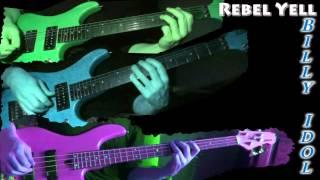 Video Billy idol - Rebel yell (guitar & bass cover) download MP3, 3GP, MP4, WEBM, AVI, FLV Juli 2018