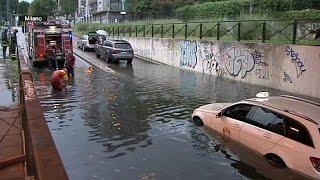 Norditalien erlebt nasstesten Juli seit langem