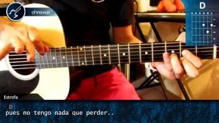 "Cómo tocar ""Soñé"" de Zoé en Guitarra Acústica (HD) Tutorial Acordes - Christianvib"