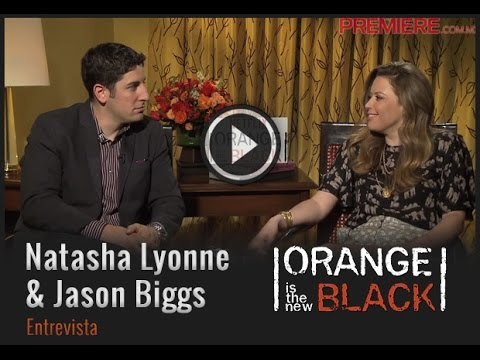 Natasha Lyonne y Jason Biggs hablan de Orange is the New Black