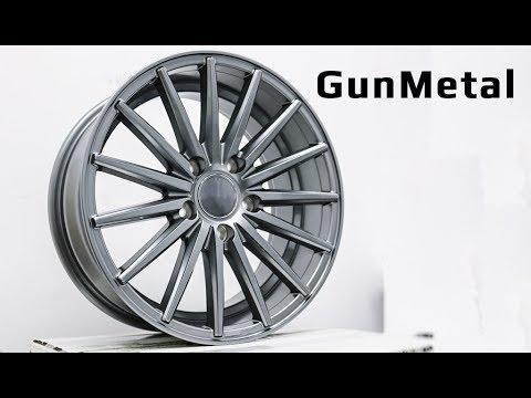 Диски цвета GunMetal /// обзор