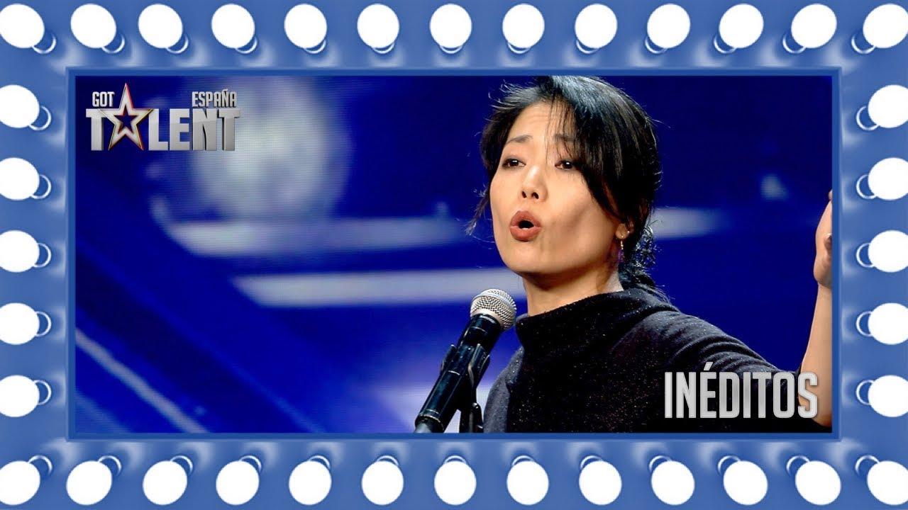 ¡Esta japonesa viene a cantar flamenco a nuestro jurado!   Inéditos   Got Talent España 2018