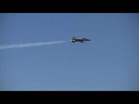 The Blue Angel RC Jet