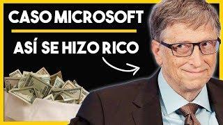 💾 Así se Hizo Rico Bill Gates con su Empresa Microsoft | Caso Microsoft