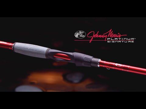 4e9012cefa0 Johnny Morris Platinum Spinning Rod - YouTube