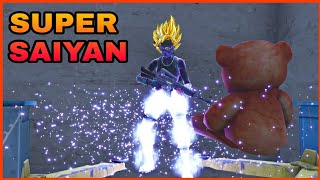 Fortnite Glitches: SUPER SAIYAN GOD MODE GLITCH [Season 4]
