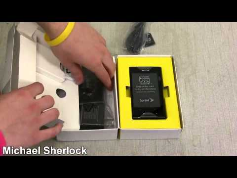Kyocera Echo (Sprint) Unboxing