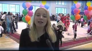Новогоднее выступление гимнасток ЦСП