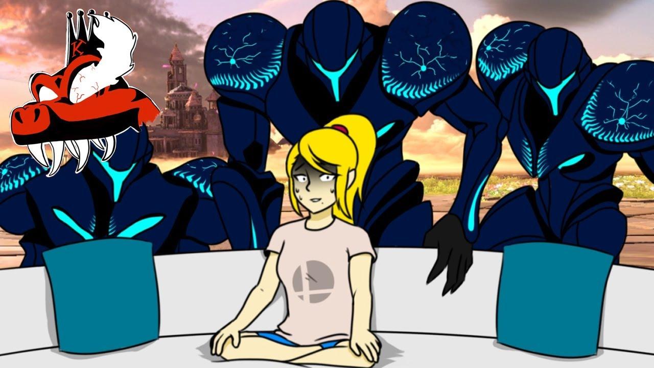 CORRUPTED METROID - A Dark Samus Montage (Super Smash Bros. Ultimate)