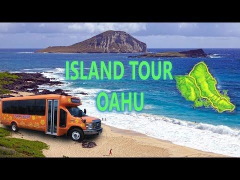 Oahu, Hawaii - Around The Island Tour 4K