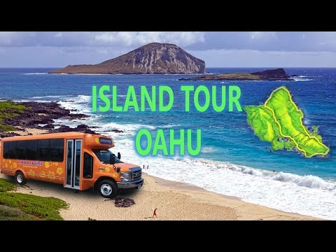 Oahu, Hawaii - Around The Island Tour 4K