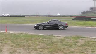 Mercedes Benz SL500 R230  **Race track**