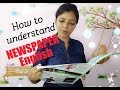 How to understand NEWSPAPER ENGLISH PART I / Spoken English through Tamil lesson 28