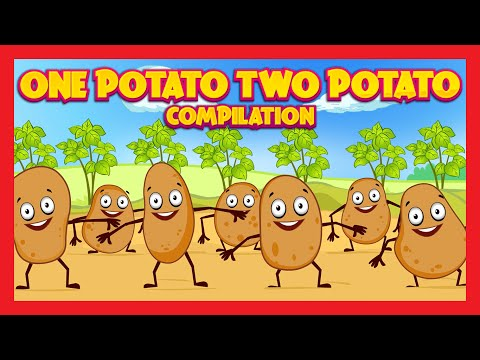 One Potato Two Potato Compilation | English Poems Collection For Kids | Kids Rhymes