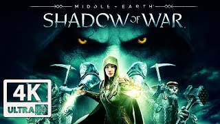 SHADOW OF WAR: BLADE OF GALADRIEL All Cutscenes (Game Movie) 4K 60FPS