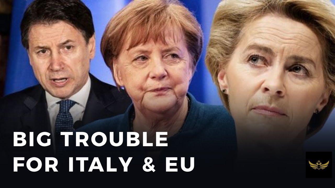 Italy on the brink of economic collapse & with it goes the EU