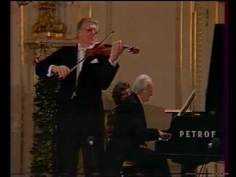 Dvořák Romantické kusy  No. 1 and 2 , Josef Suk & Jan Panenka