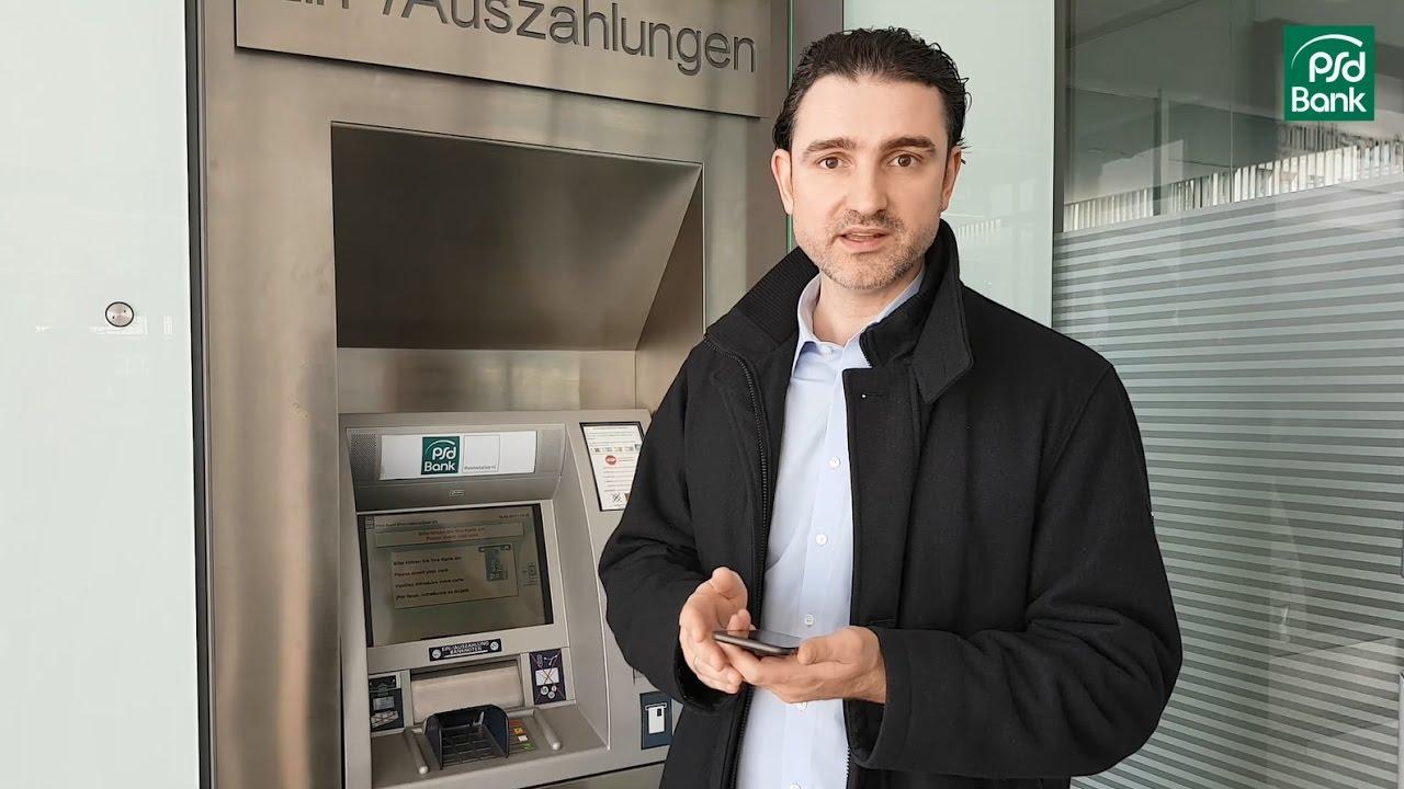 psd bank geld abheben