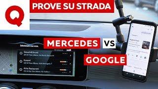 Mercedes Classe A: MBUX in gara con Google!