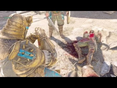 For Honor Warden A Moment of Silence execution Updated* (back) |