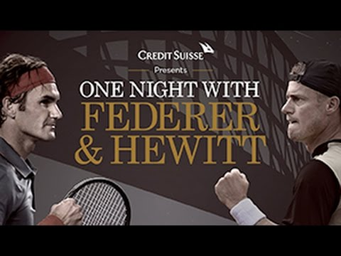 One Night With Roger Federer & Hewitt | Full Replay | Tennis Australia