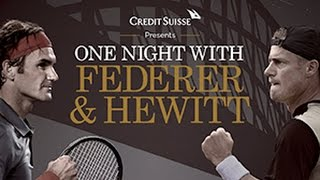 One Night With Federer & Hewitt - Full replay