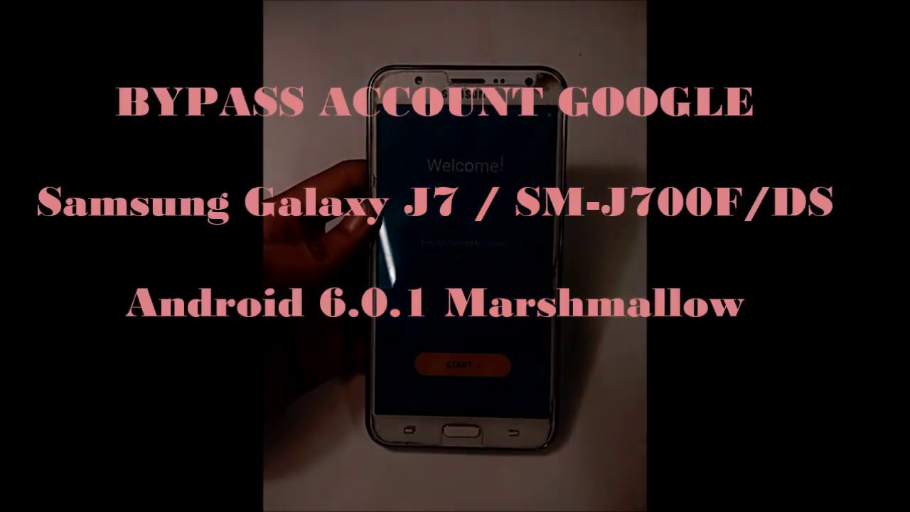 Cara Bypass Akun Samsung Galaxy J7 Bypass Google Account Reset Frp