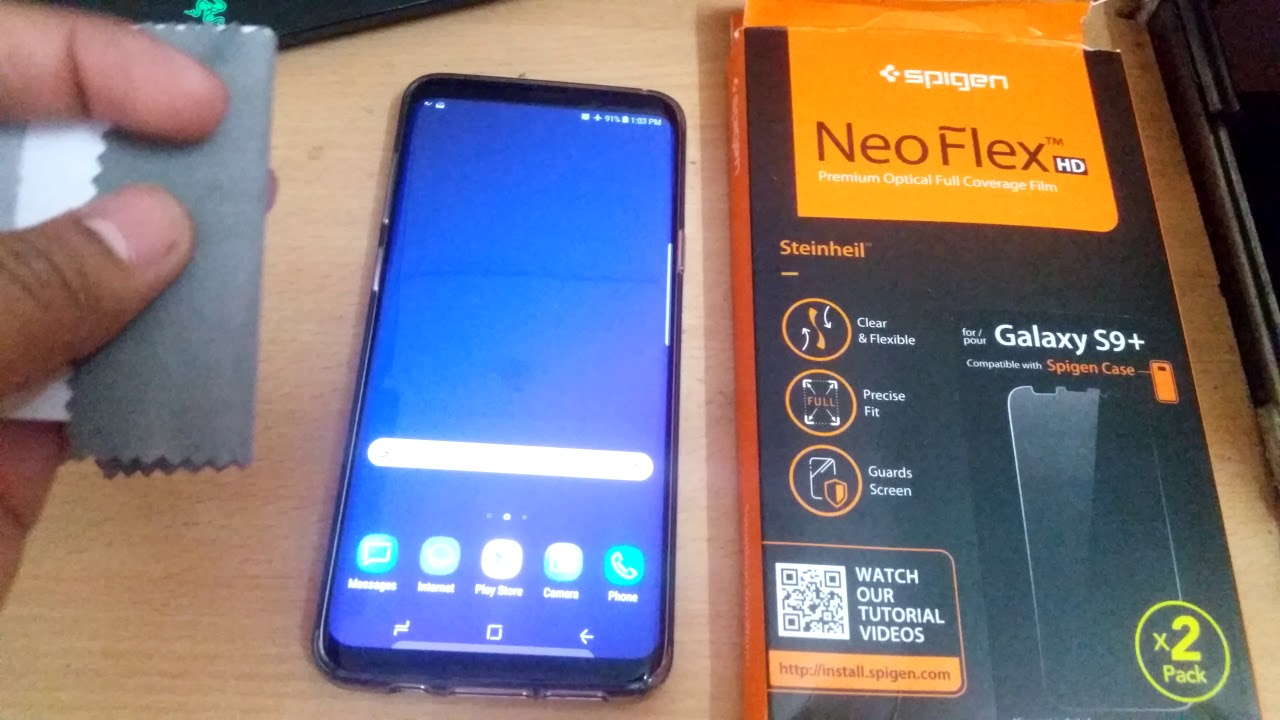 brand new a6632 7c26f Spigen Neo Flex review for Galaxy S9, S9+, S9 plus