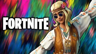 Mystical Matilda! - Fortnite Battle Royale Funny Moments | DreamFlower Hippie Skin
