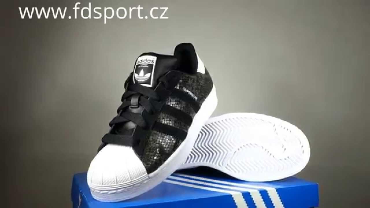 Dámské boty adidas Originals Superstar W B35797 - YouTube dc767dece08