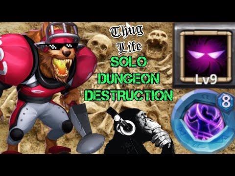 Anubis | Solo Dungeons Inc 7-10 | Castle Clash